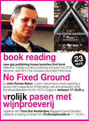 Vrolijk-booklaunch - No Fixed Ground
